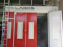 ラゴス遠景